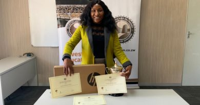 Africa University student Christabel Nyatsine excels during her industrial attachment.